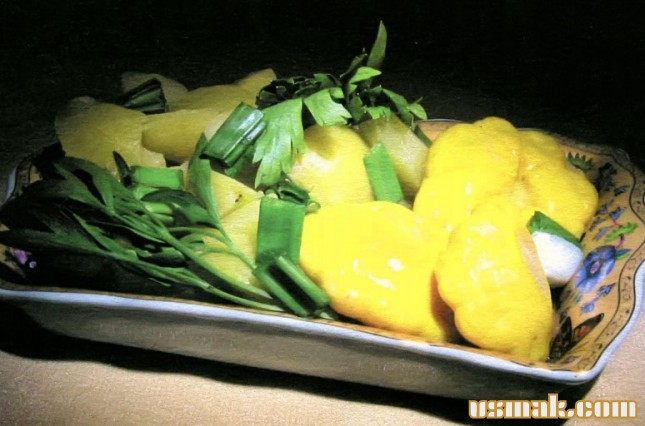 Рецепт Патиссоны маринованные