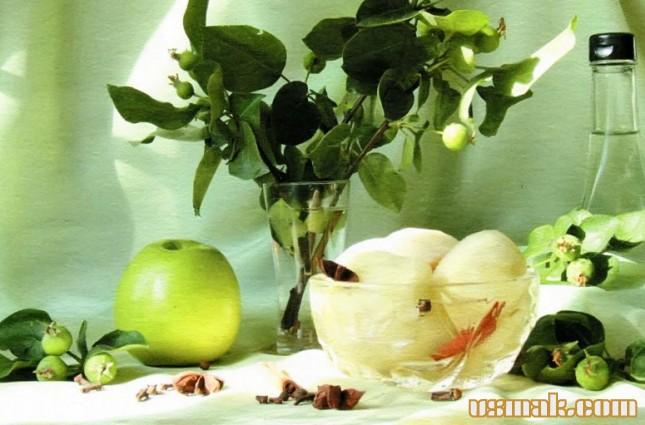 Рецепт Яблоки маринованные