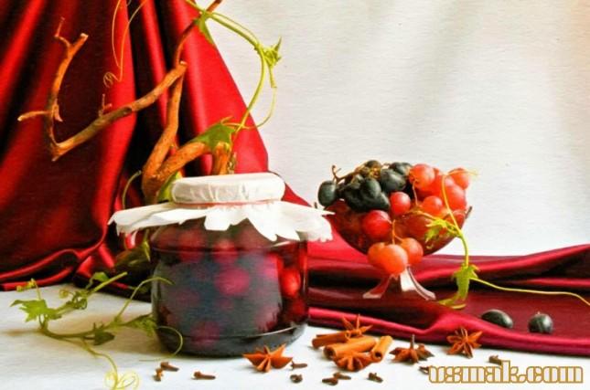 Рецепт Виноград маринованный