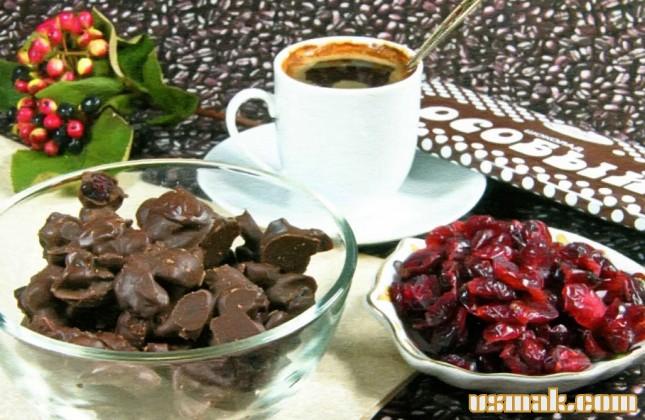 Рецепт Конфеты вишня в шоколаде