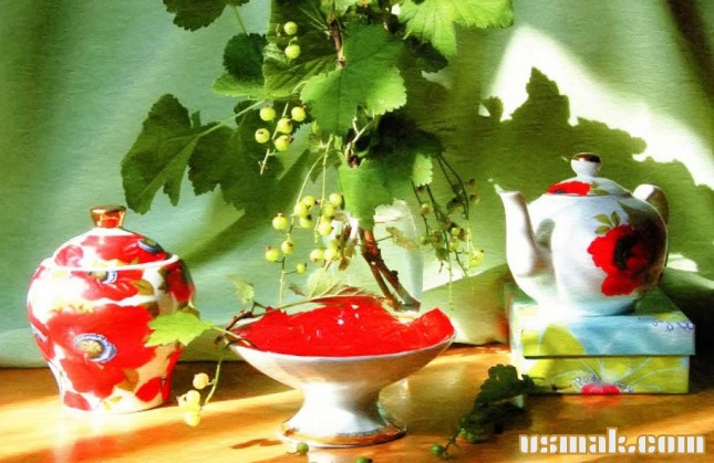Рецепт Красная смородина желе на зиму