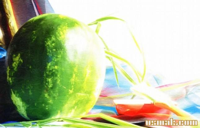 Рецепт Консервированные арбузы