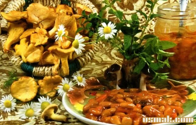 Рецепт Закуска с фасолью на зиму
