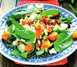 Смотреть Салат овощной с оливками видео