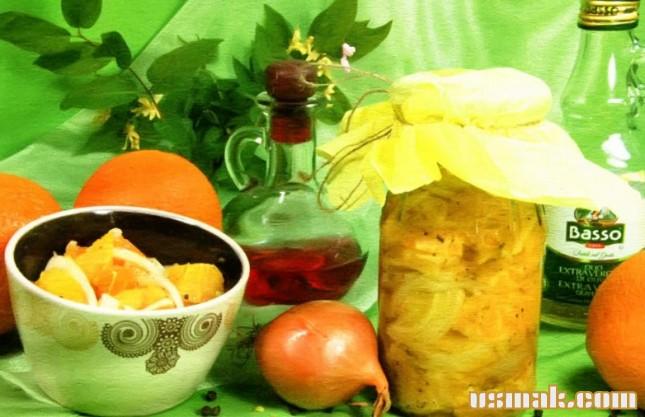 Рецепт Салат луковый на зиму