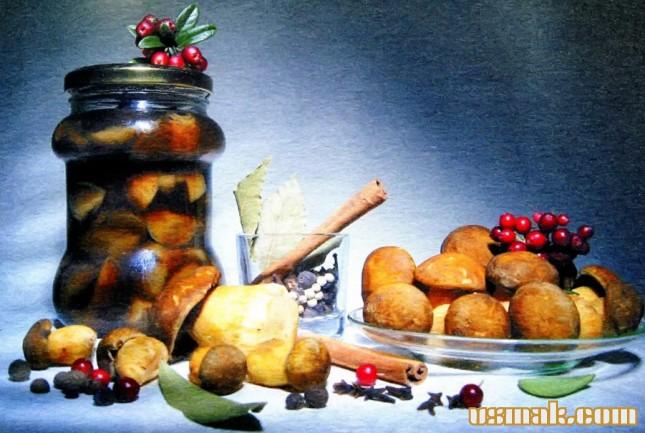 Рецепт Маринованные моховики
