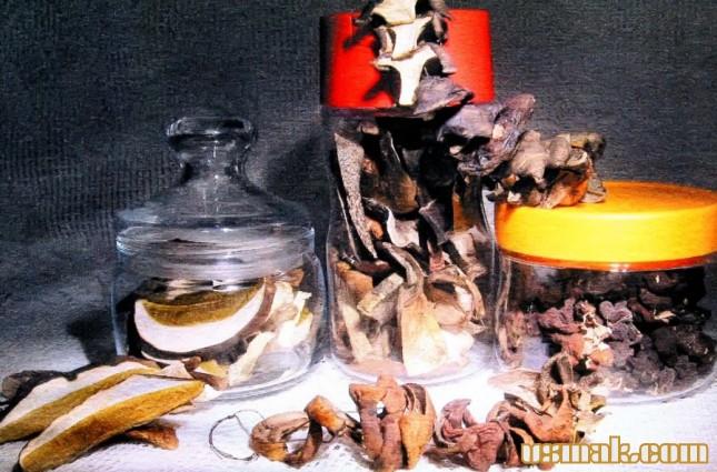 Рецепт Сушеные грибы в домашних условиях