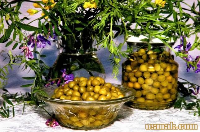 Рецепт Горошек соленый