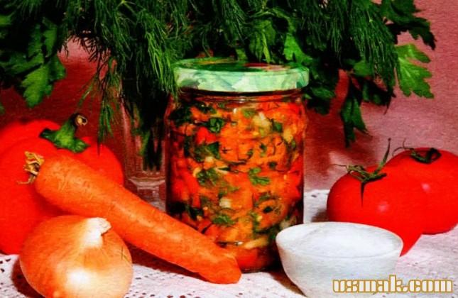 Рецепт Соленая заправка для супа