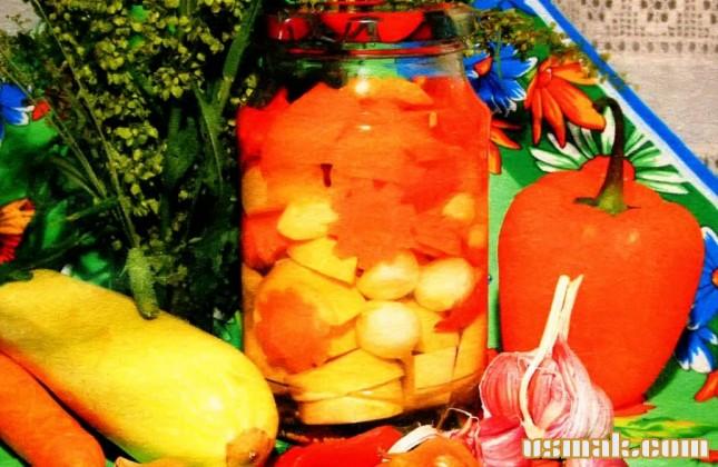 Рецепт Консервированные кабачки на зиму