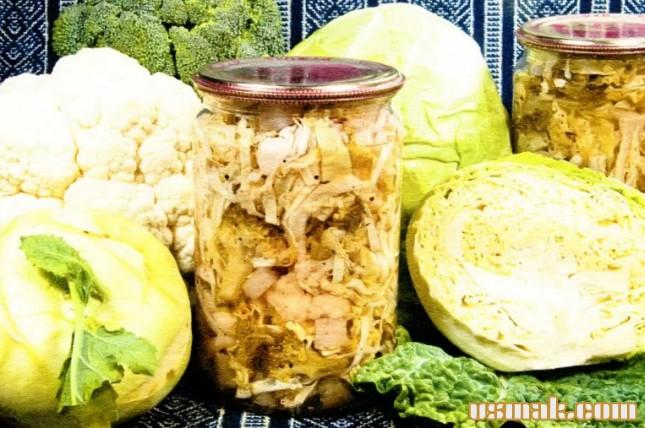 Рецепт Маринованная капуста на зиму