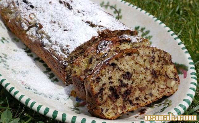Рецепт Банановый хлеб от Юлии Высоцкой