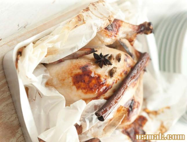 курица с апельсинами в духовке рецепт от высоцкой