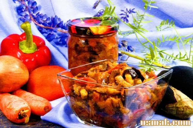 Рецепт Икра из баклажан на зиму