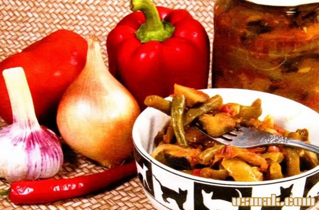 Рецепт Овощная закуска на зиму