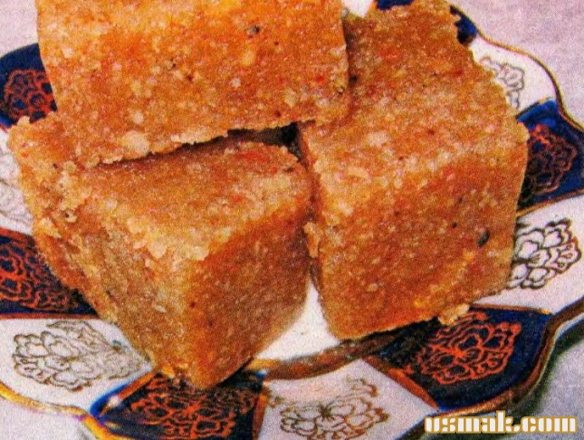 Рецепт Халва из манки