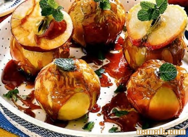 Рецепт Карамельные яблоки
