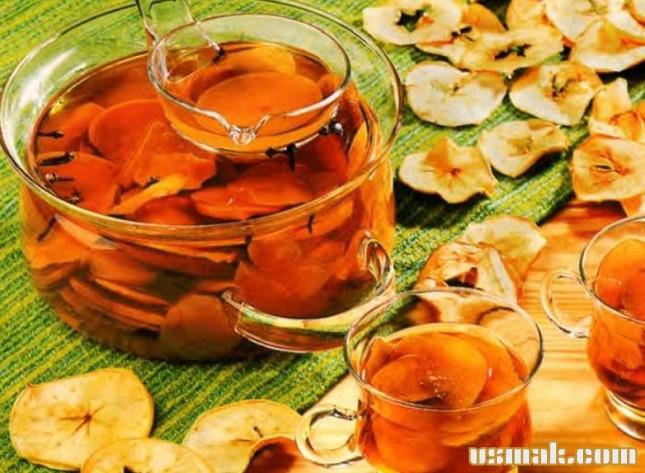 Рецепт Яблоки сушеные в духовке