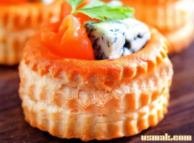 Рецепт Тарталетки с сыром и рыбой