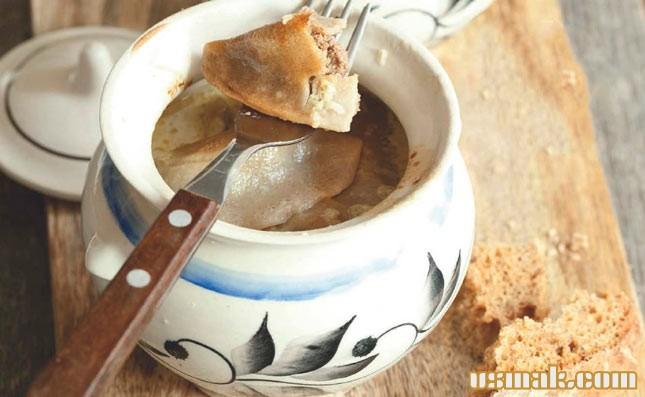 Рецепт Пельмени в горшочке