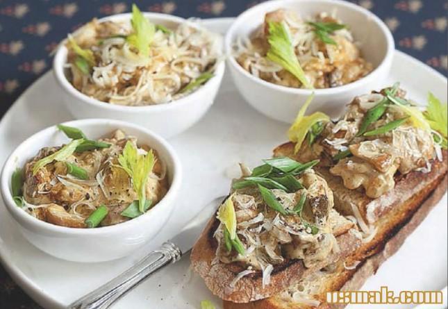 Рецепт Жюльен из грибов и курицы