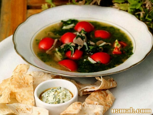 Рецепт Суп из языка