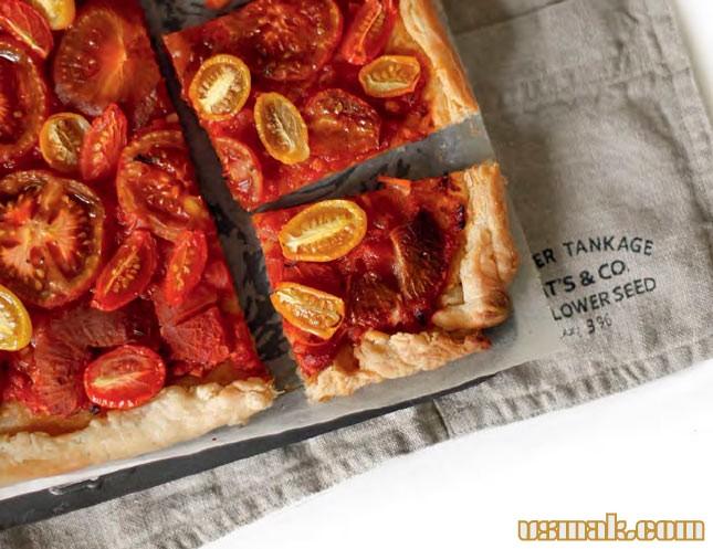 Рецепт Пирог с помидорами