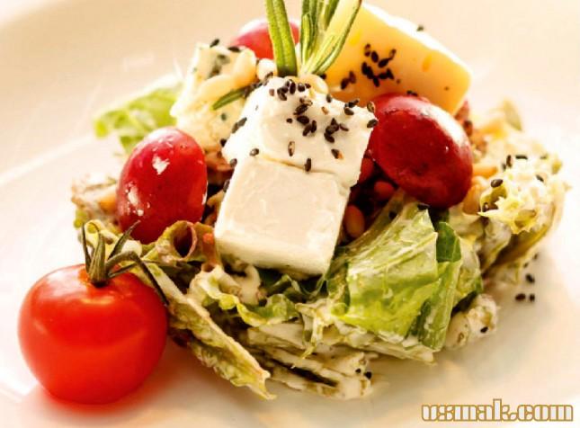 Салаты с помидорами огурцами и сыром рецепты с простые и вкусные 117
