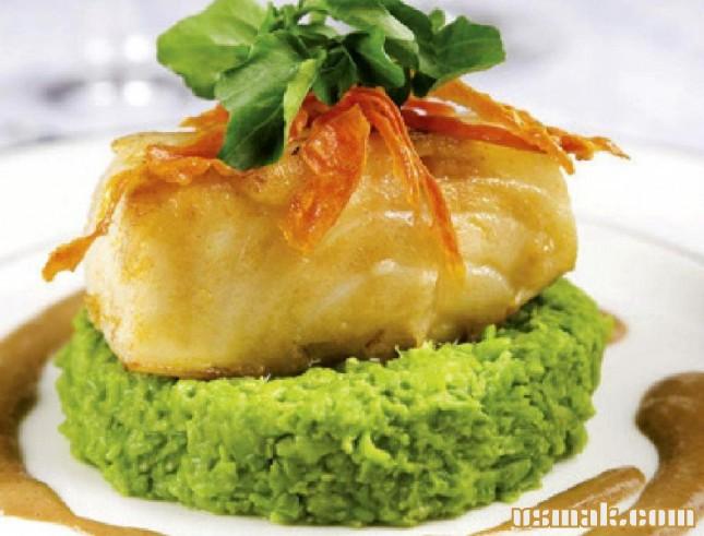 Рецепт Гороховое пюре с рыбой