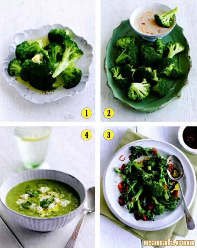 Блюда из брокколи рецепты простые и вкусные