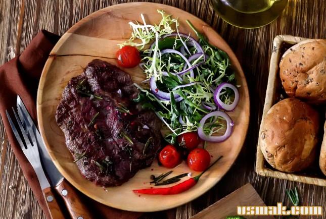 Рецепт Стейк из лопатки говядины
