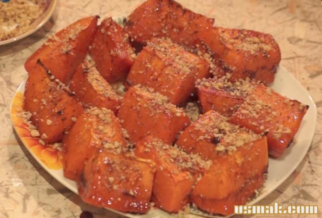 Рецепт Тыква запеченная в духовке