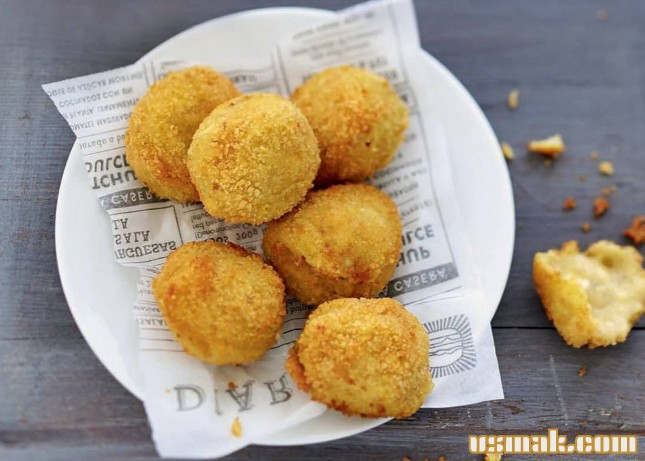 Рецепт Крокеты картофельные с сыром
