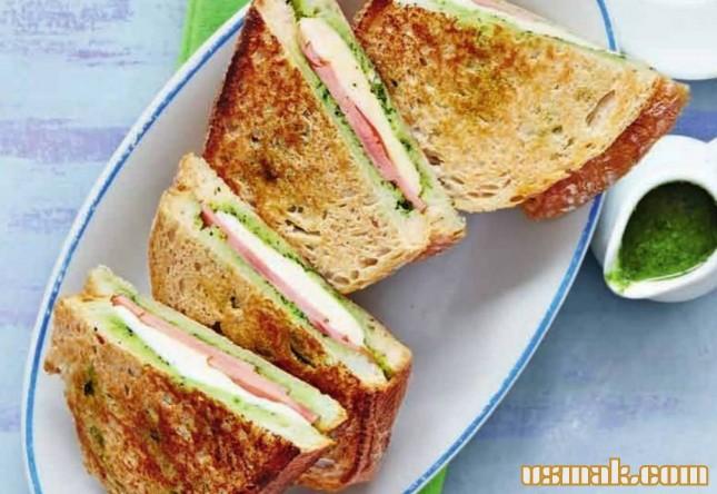 Рецепт Горячий сэндвич