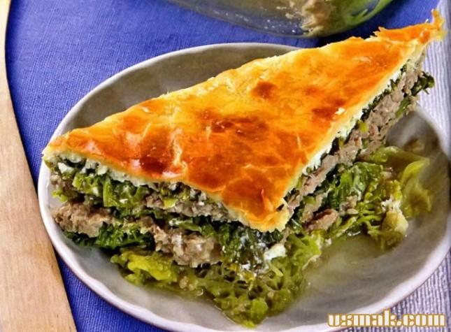 рецепт как приготовить в духовке пирог капустный