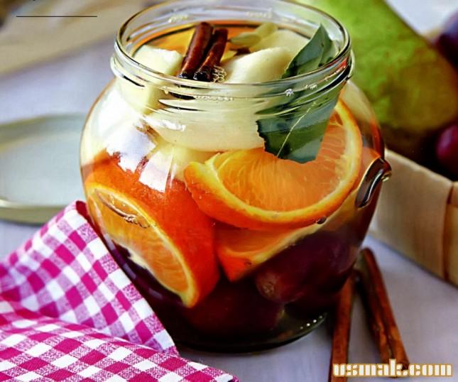 Рецепт Маринованные фрукты