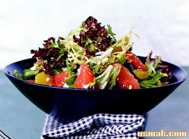 Рецепт Цитрусовый салат