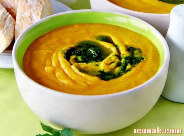 Рецепт Морковный суп пюре