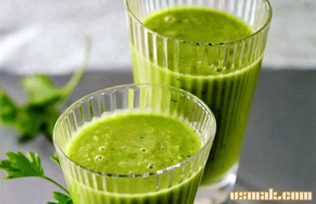 Рецепт Зеленый смузи