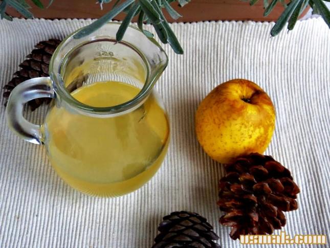 Рецепт Домашний яблочный уксус