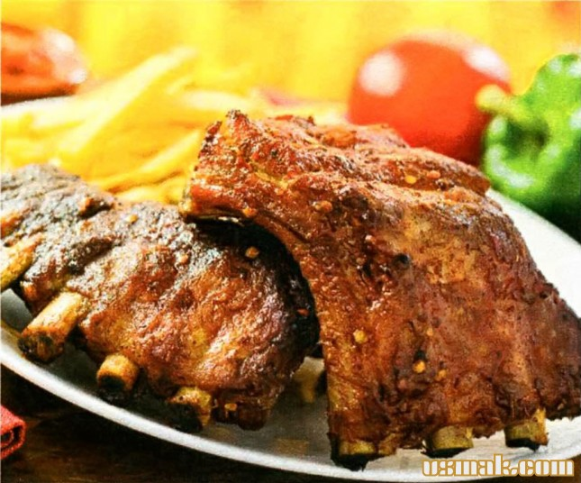 Рецепт Свиные ребрышки барбекю