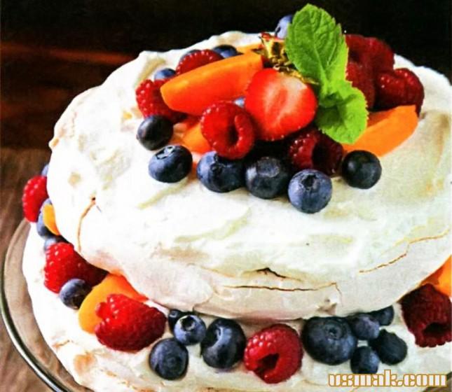Рецепт Пирожное «Павлова»