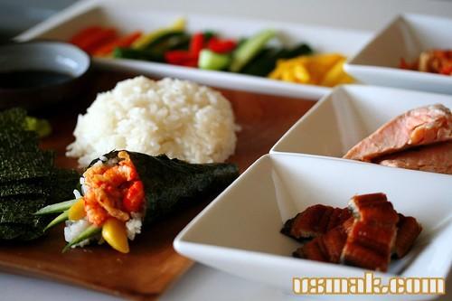 Рецепт Темаки суши (хенд роллы)