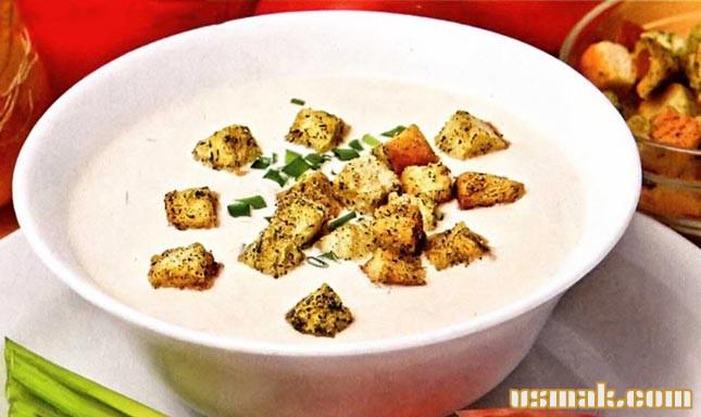 Рецепт Немецкий сырный суп