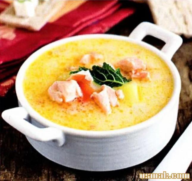 курино сырный суп пюре рецепт
