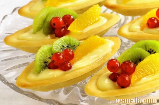 Рецепт Сладкие праздничные лодочки