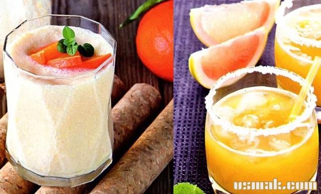 Рецепт Тропические коктейли