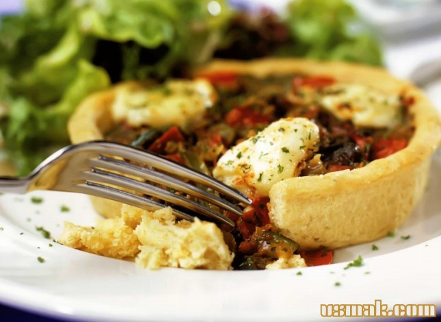 Рецепт Овощные тарталетки