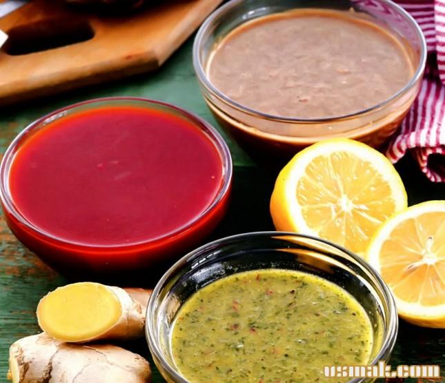 Рецепт 3 простых маринада