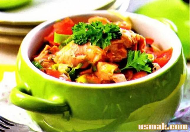 Рецепт Мясо по-карельски в горшочке